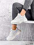 Кросівки жіночі Mina білий 3388, фото 6