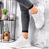 Кросівки жіночі Mina білий 3388, фото 8