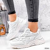 Кросівки жіночі Mina білий 3388, фото 10