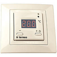 Электронный терморегулятор Terneo st (бежевый)