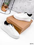 Кроссовки женские Tiago белые + черные 3274, фото 5