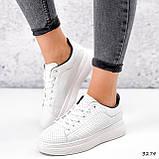 Кроссовки женские Tiago белые + черные 3274, фото 7