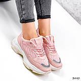 Кросівки жіночі Agnes пудра 3440, фото 4