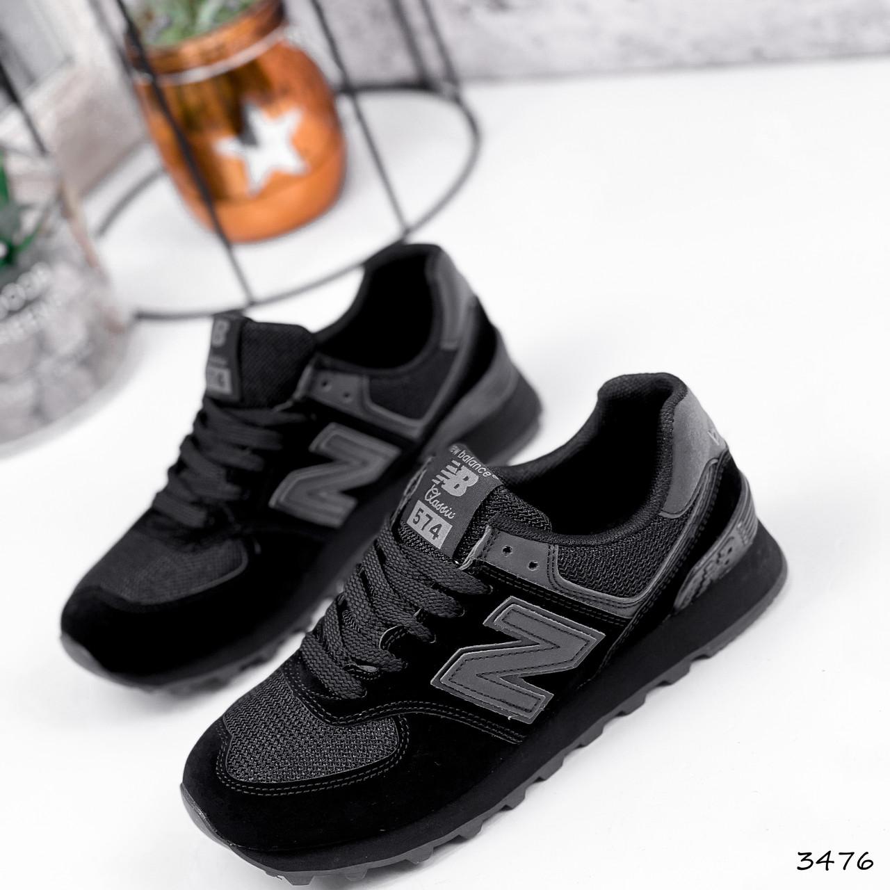 Кроссовки женские New Balance черные 3476