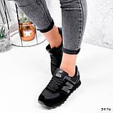 Кроссовки женские New Balance черные 3476, фото 3