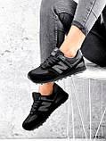 Кроссовки женские New Balance черные 3476, фото 5