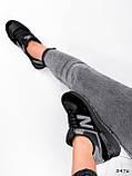 Кроссовки женские New Balance черные 3476, фото 7