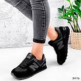 Кроссовки женские New Balance черные 3476, фото 10