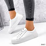 Кросівки жіночі Lisa білі 3487, фото 3