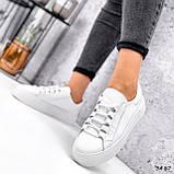 Кросівки жіночі Lisa білі 3487, фото 6