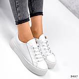 Кросівки жіночі Lisa білі 3487, фото 7