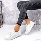 Кросівки жіночі Lisa білі 3487, фото 9