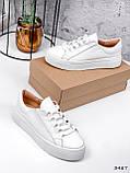 Кросівки жіночі Lisa білі 3487, фото 10