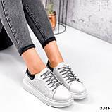 Кросівки жіночі Arait білі + чорний 3541, фото 2