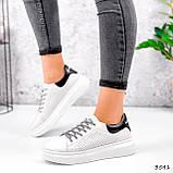 Кросівки жіночі Arait білі + чорний 3541, фото 6