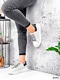 Кросівки жіночі Arait білі + чорний 3541, фото 8