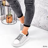 Кросівки жіночі Arait білі + чорний 3541, фото 9