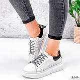 Кросівки жіночі Arait білі + чорний 3541, фото 10