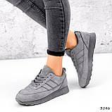 Кросівки жіночі Lilia сірі 3546, фото 3