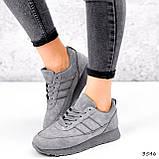 Кросівки жіночі Lilia сірі 3546, фото 5