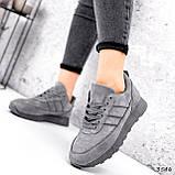 Кросівки жіночі Lilia сірі 3546, фото 7