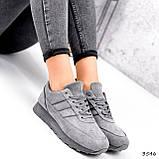 Кросівки жіночі Lilia сірі 3546, фото 9