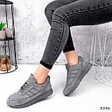 Кросівки жіночі Lilia сірі 3546, фото 10