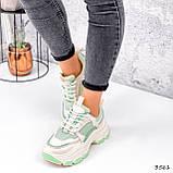 Кросівки жіночі Simar беж + світло м'ятний 3561, фото 2