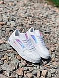 Кроссовки женские в стиле Puma белые + голография 4319, фото 10