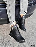 Ботинки женские Valerie черный 4324 ДЕМИ, фото 3