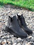 Ботинки женские Valerie черный 4324 ДЕМИ, фото 4