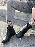 Ботинки женские Valerie черный 4324 ДЕМИ, фото 5