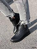 Ботинки женские Valerie черный 4324 ДЕМИ, фото 7