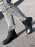 Ботинки женские Valerie черный 4324 ДЕМИ, фото 9