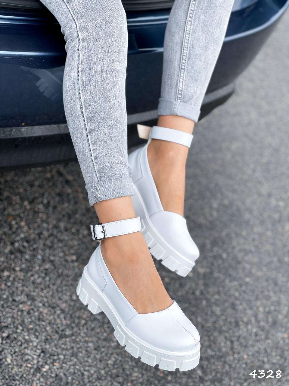 Туфлі жіночі Martel білі 4328