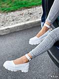 Туфлі жіночі Martel білі 4328, фото 2