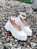 Туфлі жіночі Martel білі 4328, фото 3
