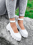 Туфлі жіночі Martel білі 4328, фото 5