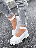 Туфлі жіночі Martel білі 4328, фото 6
