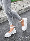 Туфлі жіночі Martel білі 4328, фото 7