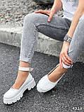 Туфлі жіночі Martel білі 4328, фото 8