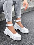 Туфлі жіночі Martel білі 4328, фото 9