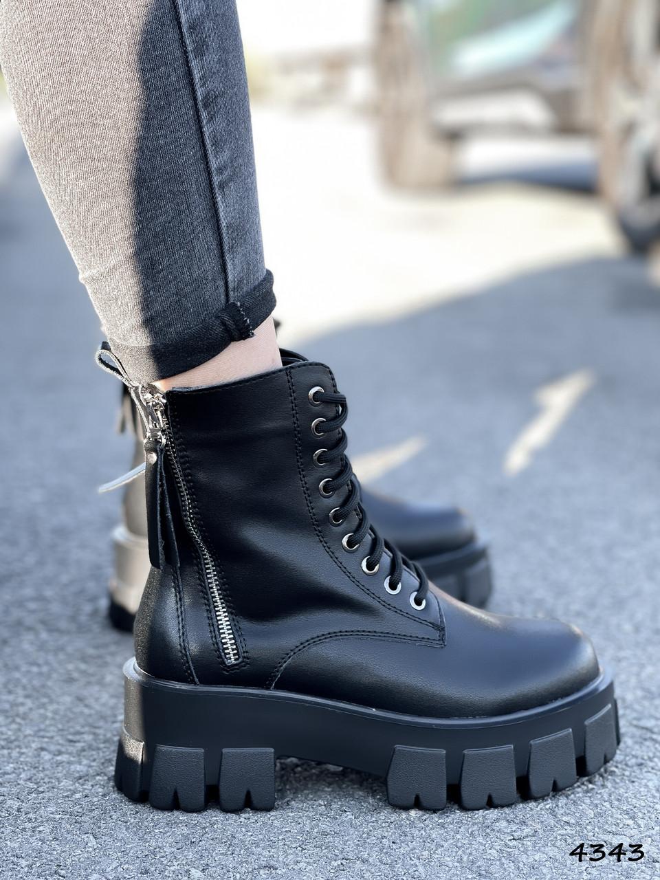 Черевики жіночі Gilone чорні 4343