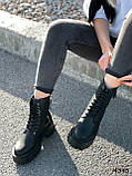 Черевики жіночі Gilone чорні 4343, фото 2