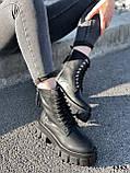 Черевики жіночі Gilone чорні 4343, фото 3