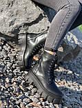 Черевики жіночі Gilone чорні 4343, фото 9