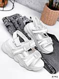 Босоніжки жіночі Jerry білі 3791, фото 4