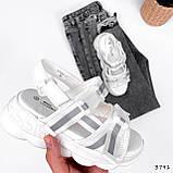 Босоніжки жіночі Jerry білі 3791, фото 5