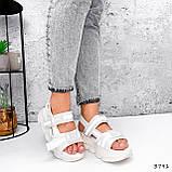 Босоніжки жіночі Jerry білі 3791, фото 8