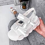 Босоніжки жіночі Jerry білі 3791, фото 9